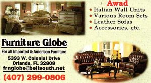 furniture globe r